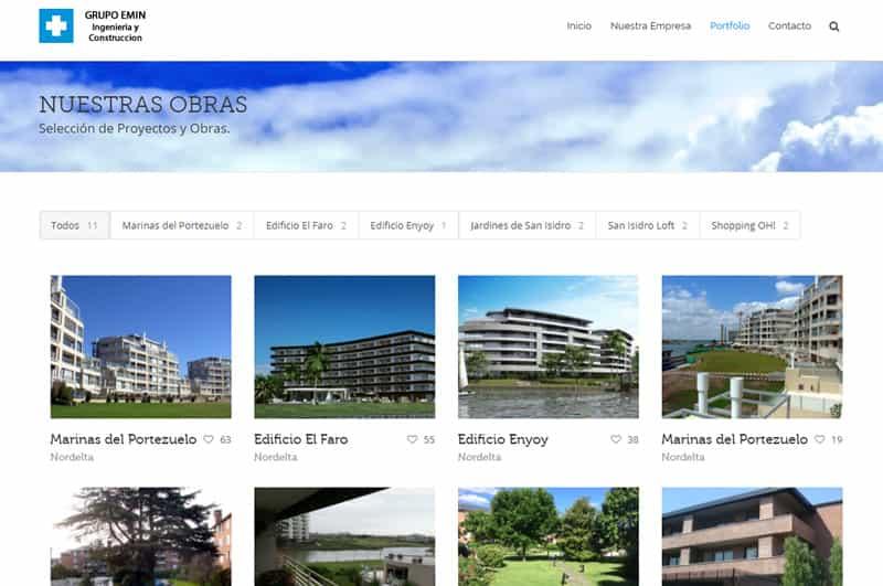 Diseño web constructoras Murcia y Alicante