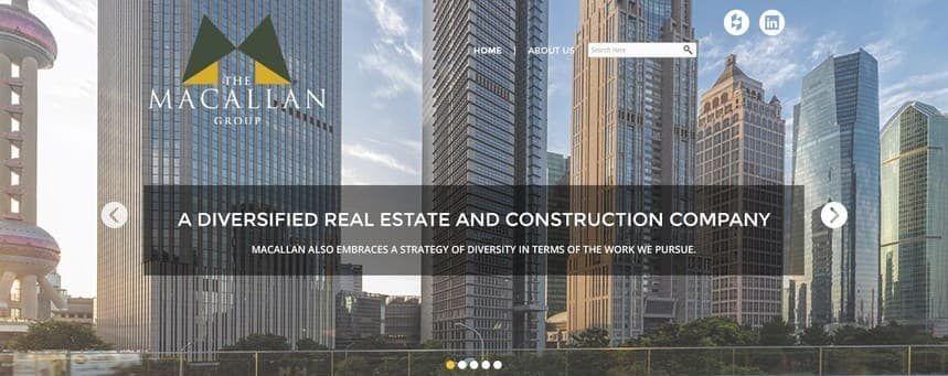 Diseño web para empresas de construcción y confianza