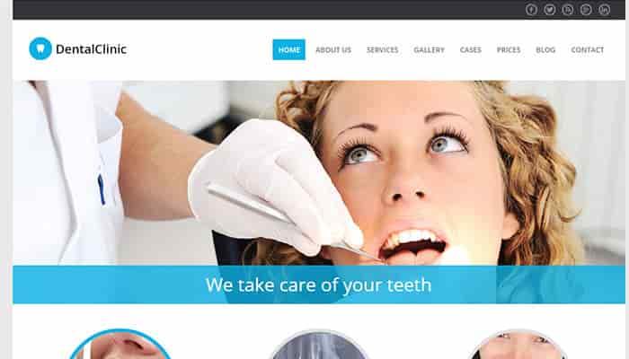 La sección clínica en el diseño de páginas web para clínicas dentales y dentistas
