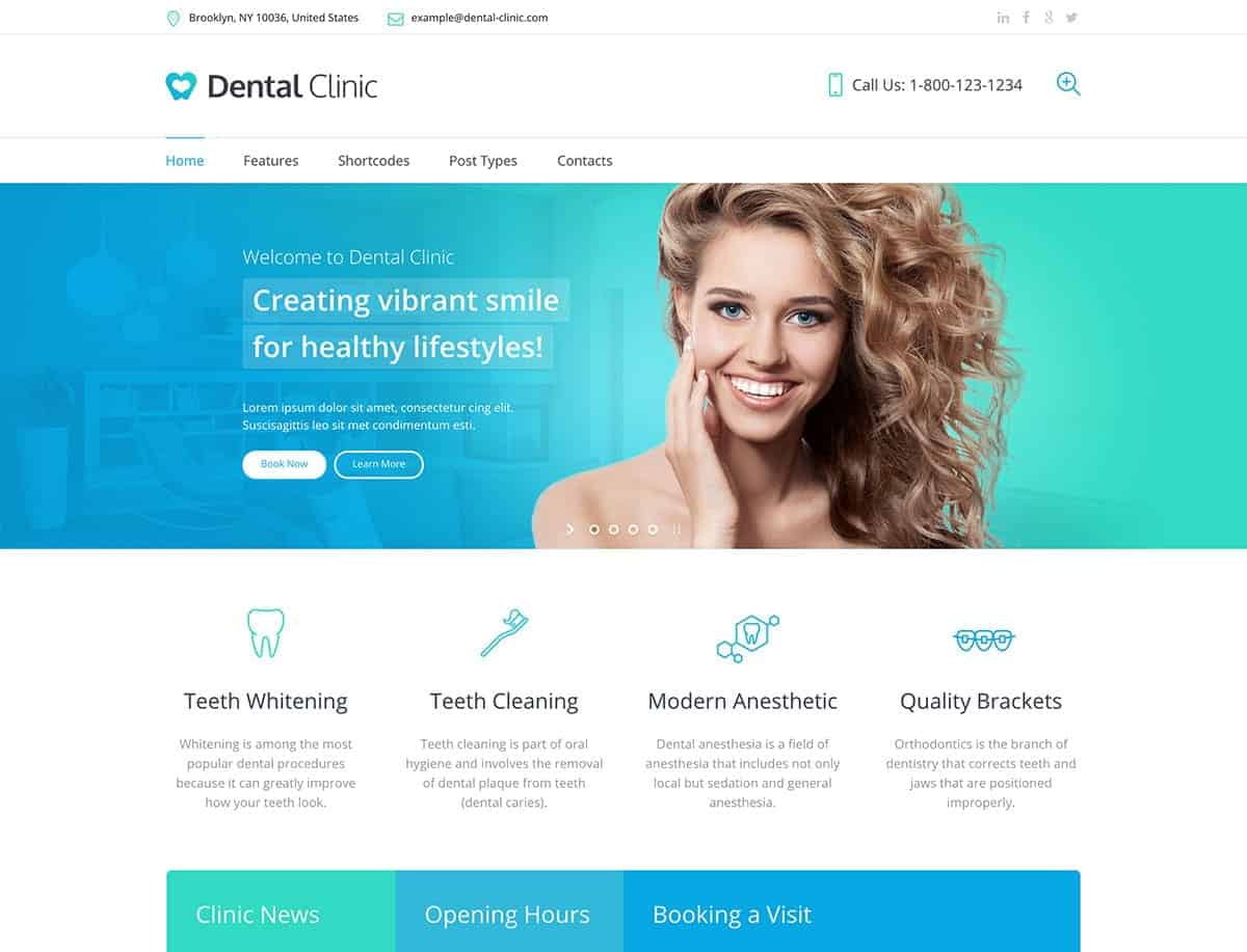 Diseño de páginas web para clínicas dentales y dentistas posicionamiento web y vídeo Marketing